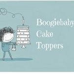 Boogiebabys Cake Toppers