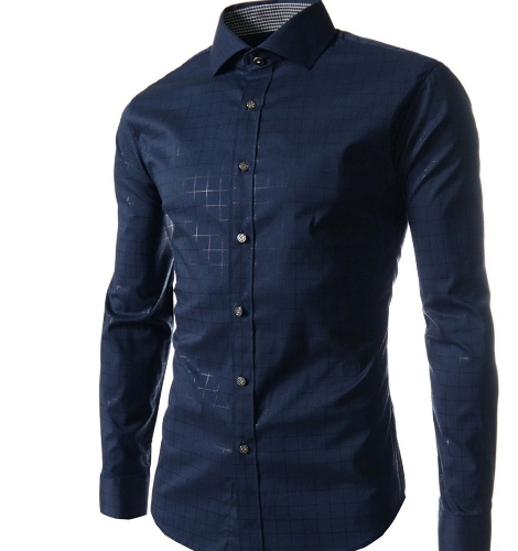 Men Lattice Shirt